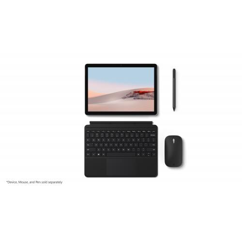 Microsoft Surface Go Type Cover Black   Pair W/ Surface Go   A Full Keyboard Experience   Close To Protect Screen & Conserve Battery   Fold Back For Tablet Mode   Enhanced Magnetic Stability That Adjusts To Virtually Any Angle