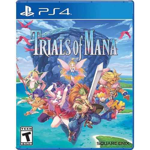 Square Enix Trials of Mana For PS4/PS5 - Role Playing - Rated T (Teen 13+) - Standard Edition - Action/Adventure game - For PlayStation 4 and PlayStation 5