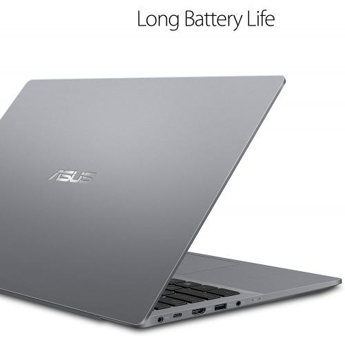 "ASUS ExpertBook P5440 14"" Laptop Intel Core I7 16GB RAM 512GB SSD Slab Gray   8th Gen I7 8565U Quad Core   In Plane Switching (IPS) Technology   180 Degrees Hinge For Flexibility   Weighs Only 2.69 Lbs   Windows 10 Pro"