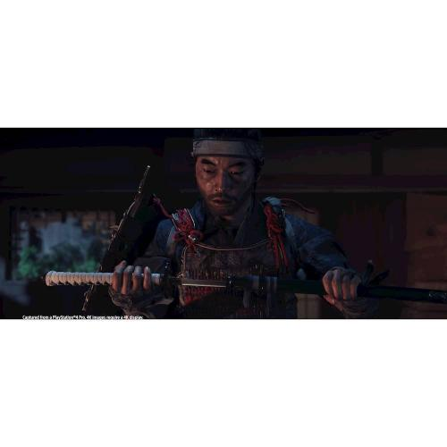 Ghost Of Tsushima Launch Edition PS4   PS4 Exclusive   ESRB Rated M (Mature 17+)   Action/Adventure Game   Releases 07/17/2020   Launch Edition Special Content Included