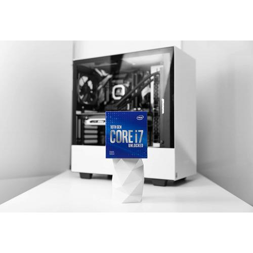 Intel Core I7 10700KF Unlocked Desktop Processor   8 Cores & 16 Threads   Up To 5.1 GHz Turbo Speed   16MB Intel Smart Cache   Socket FCLGA1200   128GB DDR4 Max Memory