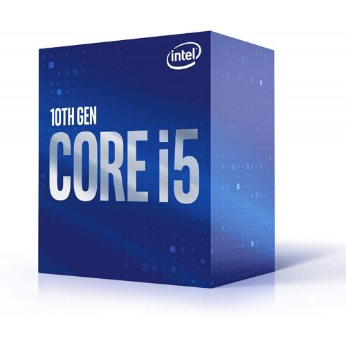 Intel Core I5 10400F Desktop Processor   6 Cores & 12 Threads   Up To 4.3 GHz Turbo Speed   12MB Intel Smart Cache   Socket FCLGA1200   128GB DDR4 Max Memory