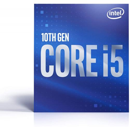 Intel Core i5-10400 Desktop Processor - 6 cores & 12 threads - Up to 4.30 GHz Turbo speed - Socket FCLGA1200 - Intel Optane Memory supported - Intel UHD Graphics 630 - 12 MB Intel Smart Cache