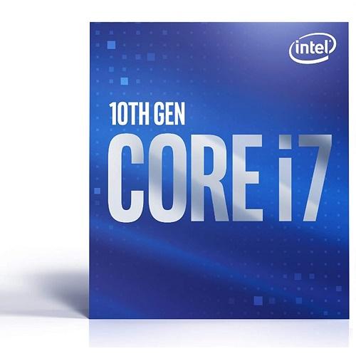Intel Core i7-10700F Desktop Processor - 8 cores & 16 threads - Up to 4.8 GHz Turbo speed - Socket FCLGA1200 - 16 MB Intel Smart Cache - 128GB DDR4 Max Memory