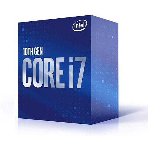 Intel Core I7 10700F Desktop Processor   8 Cores & 16 Threads   Up To 4.8 GHz Turbo Speed   Socket FCLGA1200   16 MB Intel Smart Cache   128GB DDR4 Max Memory