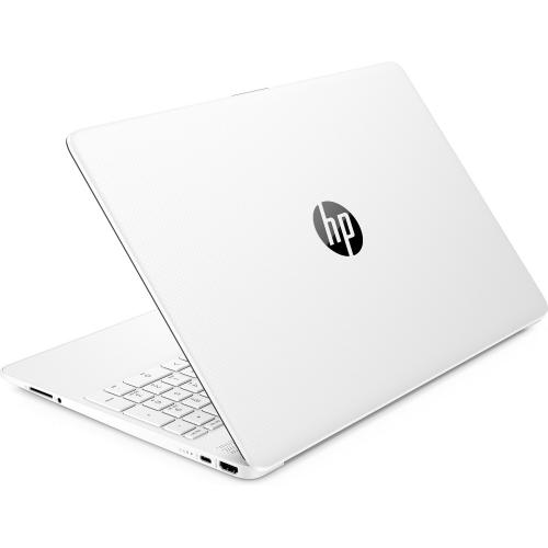 "HP 15 Series 15"" Laptop Intel Core I3 4GB RAM 256GB SSD Snow White   10th Gen I3 1005G1 Dual Core   SVA, BrightView Panel Display   6.5mm Micro Edge Bezel Display   Windows 10 Home   11 Hr 30 Min Battery Life"