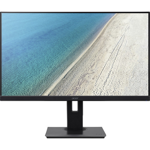 """Open Box: Acer B227Q 21.5"""" LED LCD Monitor   1920 X 1080 Full HD   In Plane Switching (IPS) Technology   16.7 Million Colors   4 Ms GTG   75 Hz Refresh Rate"""