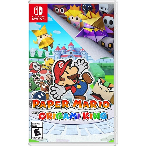 Paper Mario: The Origami King Nintendo Switch - For Nintendo Switch & Nintendo Switch Lite - ESRB Rated E (Everyone) - Action/Adventure game - Releases 7/17/2020 - Single Player Supported