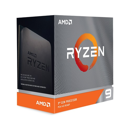 AMD Ryzen 9 3900XT Unlocked Desktop Processor without cooler - 12 cores & 24 threads - 3.8 GHz- 4.7 GHz CPU Speed - PCIe 4.0 Ready - 7nm Process Technology - Without Cooler