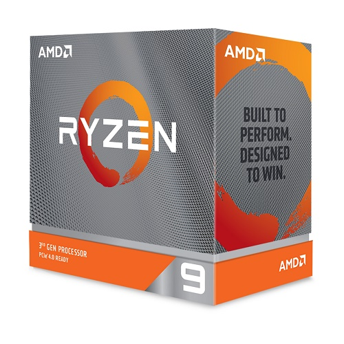 AMD Ryzen 9 3900XT Unlocked Desktop Processor Without Cooler   12 Cores & 24 Threads   3.8 GHz  4.7 GHz CPU Speed   PCIe 4.0 Ready   7nm Process Technology   Without Cooler