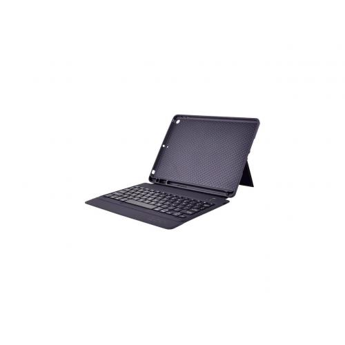 """Open Box: Codi Keyboard/Cover Case (Folio) for 10.2"""" Apple iPad (7th Generation) Tablet - Bump Resistant, Scratch Resistant, Wear Resistant - PU Leather, ABS Plastic, Thermoplastic Polyurethane (TPU) - Textured - 7.8"""" Height x 10"""" Width x 0.7"""" Depth"""