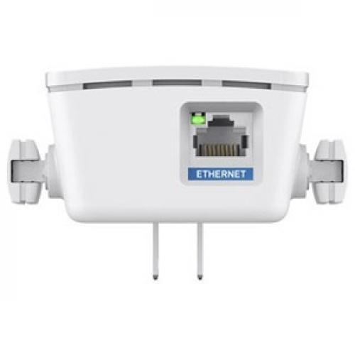 Open Box: Linksys AC1200 Boost EX Dual-Band Wi-Fi Range Extender (RE6400) - 2.40 GHz, 5 GHz - 1 x Network (RJ-45) - Ethernet, Fast Ethernet, Gigabit Ethernet - Wall Mountable