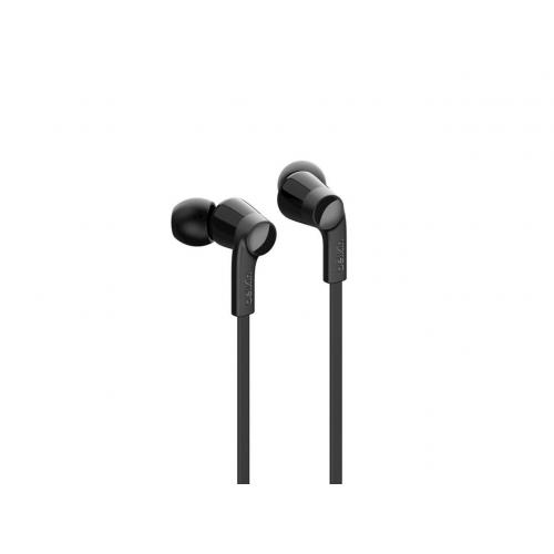 Open Box: Belkin ROCKSTAR Headphones With Lightning Connector   Stereo   Lightning Connector   Wired   Earbud   3.67 Ft Cable