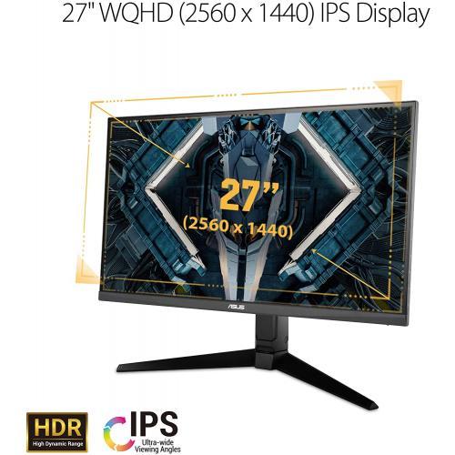 "TUF VG27AQL1A 27"" WQHD Gaming LCD Monitor - 16:9 - Black"