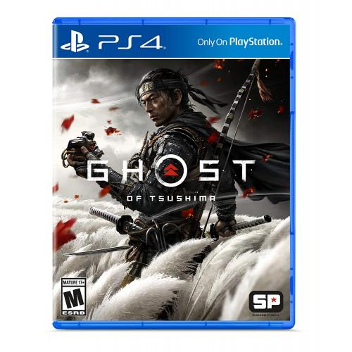 Ghost of Tsushima - Standard Edition PlayStation 4 - PS4 Exclusive - ESRB Rated M (Mature 17+) - Action/Adventure Game - Single-Player Game