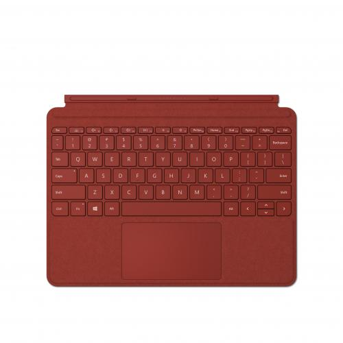 "Microsoft Surface Go 2 10.5"" Intel Core M3 8GB RAM 128GB SSD LTE Platinum + Surface Go Signature Type Cover Poppy Red + Microsoft 365 Personal 1 Year Subscription For 1 User"