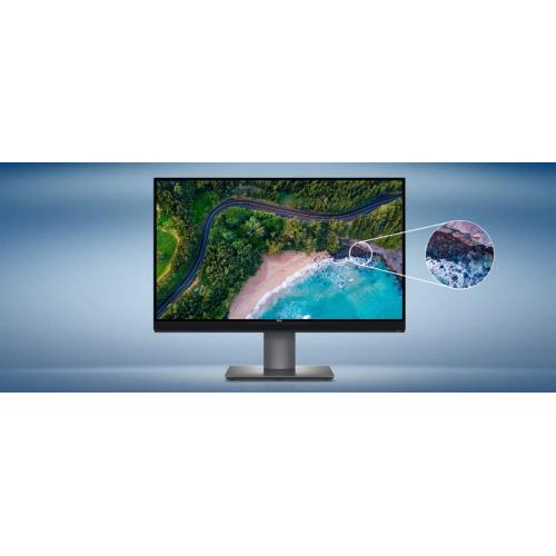 """Dell UP2720Q 27"""" UltraSharp 4K Premier Color Monitor   3840 X 2160 4k Display @ 60 Hz   6 Ms Response Time   In Plane Switching (IPS) Technology   100% Color Gamut   WLED Backlight Technology"""