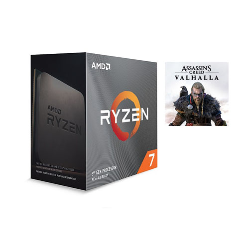 AMD Ryzen 7 3800XT Unlocked Desktop Processor without cooler + Assassin's Creed Valhalla Ryzen Token Code