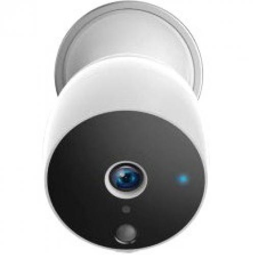 Open Box: Wireless HD Smart Home Indoor/Outdoor Security Camera with Motion Detection, Night Vision, 2-Way Audio, Alkaline/Lithium AA Battery Operated (ASHBC01F)