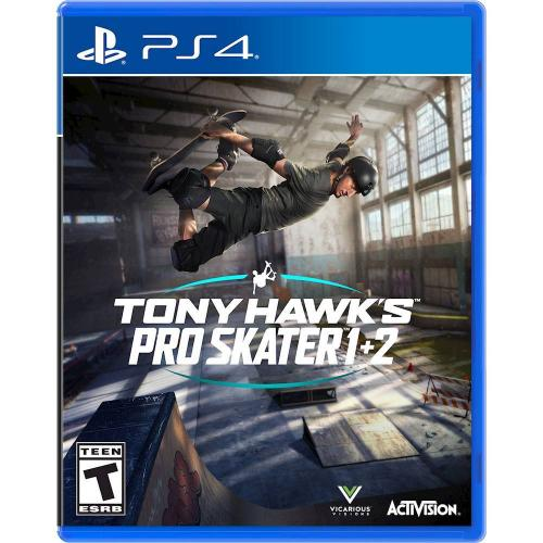 Tony Hawk's Pro Skater 1 + 2 PlayStation 4 - For PS4 & PS5 - ESRB Rated T (Teen13+) - Multiplayer supported - Online play supported - 2 classic games in one