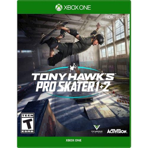 Tony Hawk's Pro Skater 1+2 Standard Edition - For Xbox One - ESRB Rated T (Teen 13+) - Single & Multiplayer Supported - Play all original game modes - Skate as legendary Tony Hawk