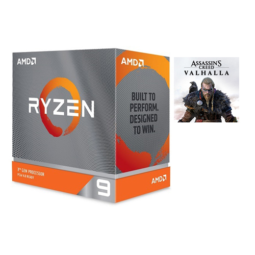 AMD Ryzen 9-3950X Desktop Processor + Assassin's Creed Valhalla Ryzen Token Code - (1) One Ryzen Token Code (email delivery) - 16 Cores & 32 Threads - 3.5 GHz- 4.7 GHz Clock Speed - 7 nm Process Technology - Socket AM4 Processor - 64MB L3 Cache