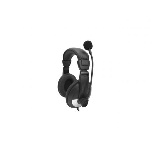 Open Box: Basic Lab Headphone Black   Boom Microphone, Volume Control   Adjustable Padded Nylon Headband   Durable Storage Case Included With Packs   Frequency Range Of Sound From 20 Hz 20 KHz   6 Ft Wired Cable Cord