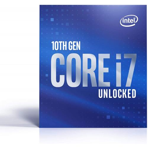 Intel Core I7 10700K Unlocked Desktop Processor + Microsoft 365 Personal 1 Year Subscription For 1 User