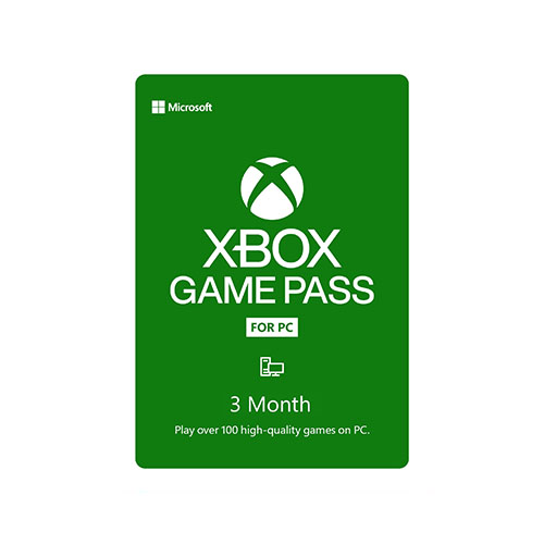 Microsoft Xbox Game Pass For PC 3 Month Membership (Email Delivery) - 3-Month Membership - Email Delivery code - Get access to over 100 high-quality PC games on Windows 10 - Use the Xbox App on PC to play games on the release day