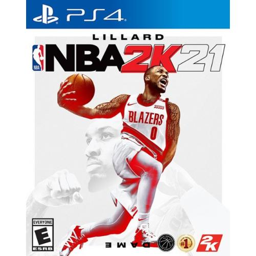 NBA 2K21 Standard Edition PS4 - For PlayStation 4 - ESRB Rated E (Everyone) - Single & Multiplayer Supported - Build a GOAT Team in MyTEAM - Embark on your own personal journey!