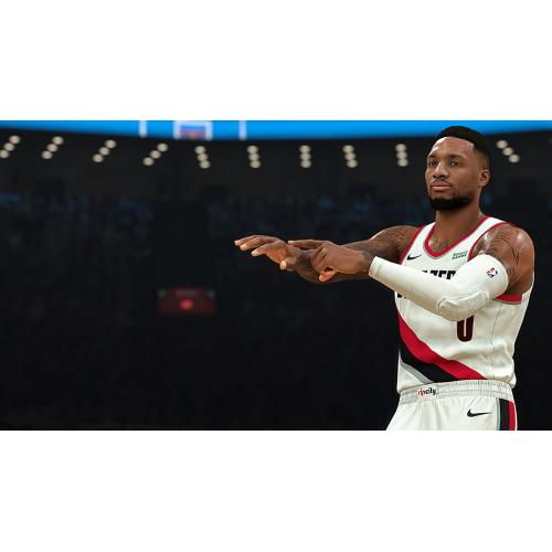 NBA 2K21 Standard Edition PS4   For PlayStation 4   ESRB Rated E (Everyone)   Single & Multiplayer Supported   Build A GOAT Team In MyTEAM   Embark On Your Own Personal Journey!