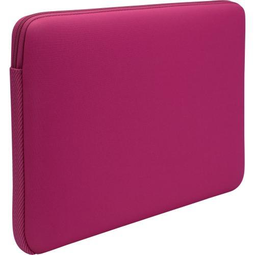 "Open Box: Case Logic LAPS-113 Carrying Case (Sleeve) for 13.3"" Notebook - Pink - Ethylene Vinyl Acetate (EVA), Foam Interior - 10"" Height x 14"" Width x 1.1"" Depth"