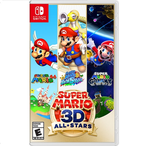 Super Mario 3D All-Stars Nintendo Switch - For Nintendo Switch & Nintendo Switch Lite - Action/Adventure game - ESRB Rated E (Everyone) - Releases 9/18/2020 - Single Player Supported