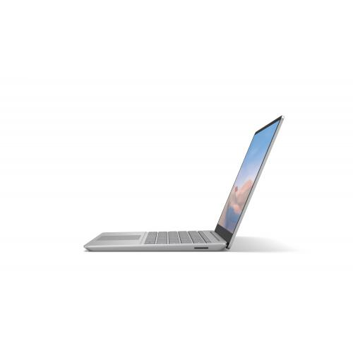 "Microsoft Surface Laptop Go 12.4"" Intel Core I5 8GB RAM 128GB SSD Platinum   10th Gen I5 1035G1 Quad Core   Multi Point Touchscreen   Intel UHD Graphics   Windows 10 Home In S Mode   13 Hr Battery Life"