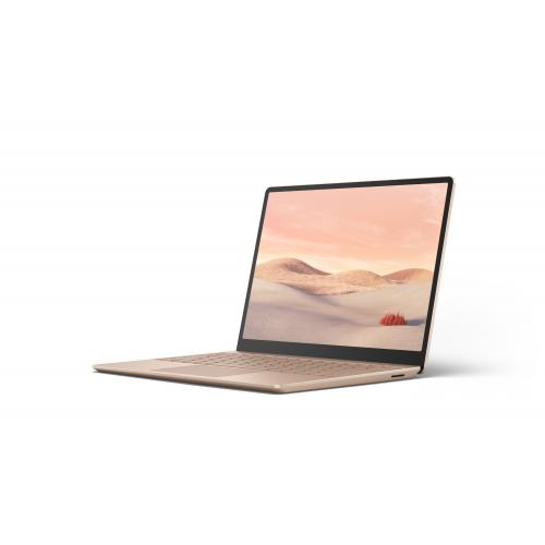 "Microsoft Surface Laptop Go 12.4"" Intel Core i5 8GB RAM 128GB SSD Sandstone - 10th Gen i5-1035G1 Quad-core - Multi-point Touchscreen - Intel UHD Graphics - Windows 10 Home in S mode - 13 hr battery life"