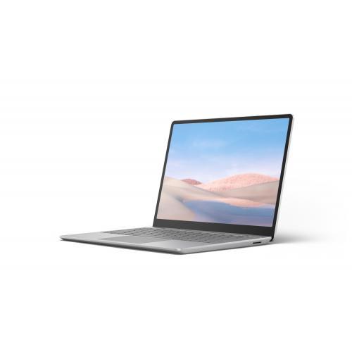 "Microsoft Surface Laptop Go 12.4"" Intel Core i5 8GB RAM 256GB SSD Platinum - 10th Gen i5-1035G1 Quad-core - Multi-point Touchscreen - Intel UHD Graphics - Windows 10 Home in S mode - 13 hr battery life"