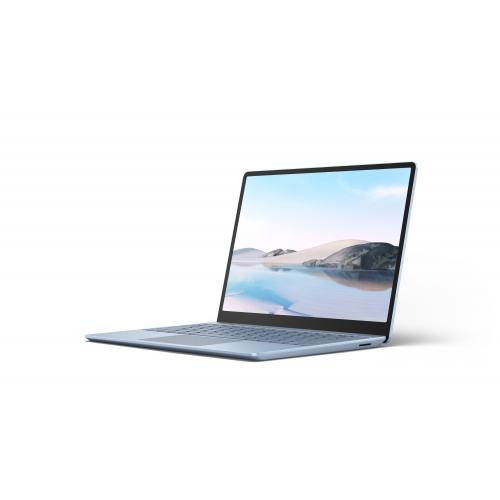 """Microsoft Surface Laptop Go 12.4"""" Intel Core i5 8GB RAM 256GB SSD Ice Blue - 10th Gen i5-1035G1 Quad-core - Multi-point Touchscreen - Intel UHD Graphics - Windows 10 Home in S mode - 13 hr battery life"""
