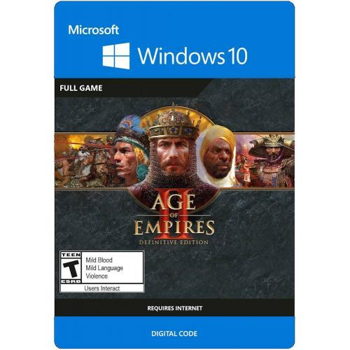 Age of Empires II: Definitive Edition - For Windows Platforms - Digital Download - Rated T (Teen 13+) - Multiplayer - Turn Based Strategy
