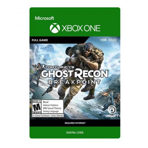 Tom Clancy's: Ghost Recon Breakpoint Xbox One (Email Delivery) - For Xbox One X - Email Delivery Code Only - ESRB Rated M (Mature 17+) - Play solo or up to 4 player Co-op