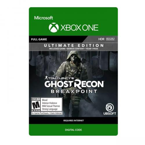 Tom Clancy's: Ghost Recon Breakpoint Ultimate Edition Xbox One (Email Delivery) - For Xbox One - Includes all Gold content + More! - Email Delivery Code Only - ESRB Rated M (Mature 17+) - Play solo or up to 4 player Co-op