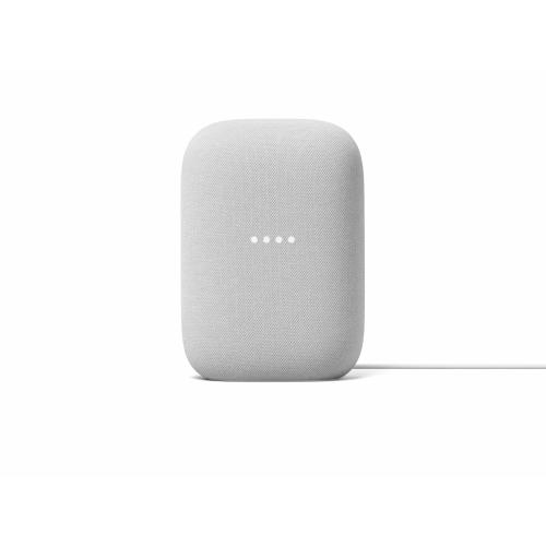 Google Nest Audio Chalk - Google Assistant built in - Quad-core A53 1.8 GHz Processor - Stream music with your voice - Control smart devices hands-free - Made with recycled materials