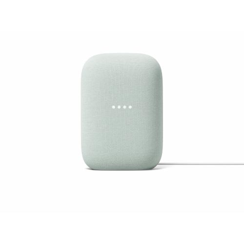 Google Nest Audio Sage - Google Assistant built in - Quad-core A53 1.8 GHz Processor - Stream music with your voice - Control smart devices hands-free - Made with recycled materials