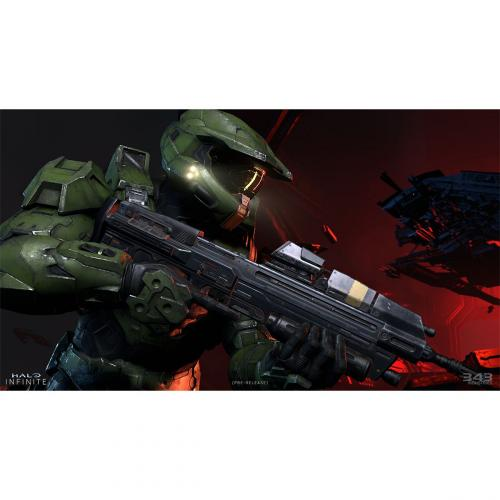 Halo Infinite Standard Edition   For Xbox One, Xbox Series X   Release Date: 12/8/2021   Strategy & Shooter Game   Single & Multiplayer Supported