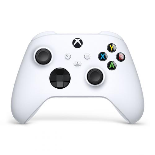 Xbox Wireless Controller Robot White - Wireless & Bluetooth Connectivity - New Hybrid D-pad - New Share Button - Textured Grip - Easily Pair & Switch Between Devices
