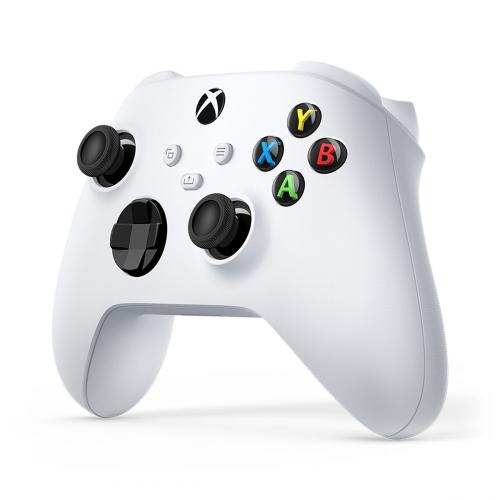 Xbox Wireless Controller Robot White   Wireless & Bluetooth Connectivity   New Hybrid D Pad   New Share Button   Textured Grip   Easily Pair & Switch Between Devices