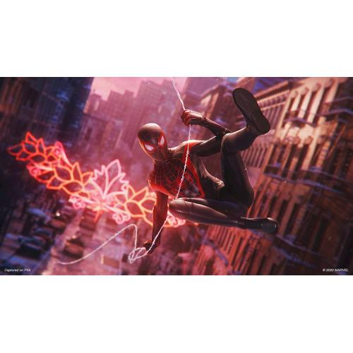Marvel's Spider Man: Miles Morales Launch Edition   For PlayStation 5   Action/Adventure Game   ESRB Rated T (Teen 13+)   Max Number Of Players Supported: 1   Releases 11/12/2020