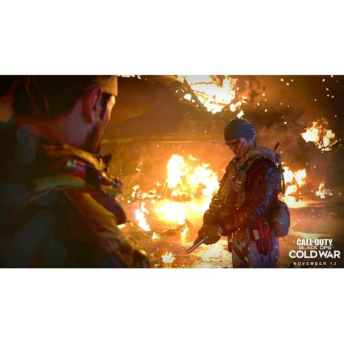 Call Of Duty: Black Ops Cold War Standard Edition   For PlayStation 5   ESRB Rated M (Mature 17+)   First Person Shooter   Multiplayer Supported   Releases 11/13/2020