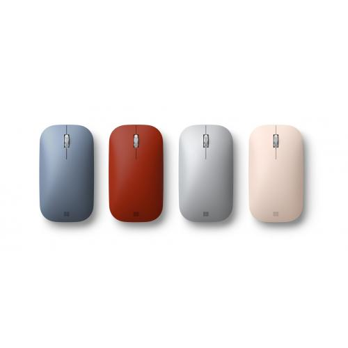Microsoft Surface Mobile Mouse Sandstone   Bluetooth Connectivity   Seamless Scrolling   Light & Portable   BlueTrack Enabled