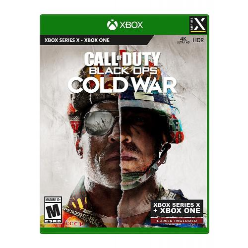 Call of Duty: Black Ops Cold War Standard Edition - Xbox Series X - ESRB Rated M (Mature 17+) - First Person Shooter - Multiplayer Supported - Releases 11/13/2020