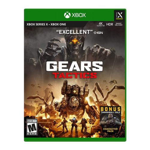 Gears Tactics for Xbox One - Xbox One Console exclusive - ESRB Rated Mature (17+) - Fast-paced Strategy game - Releases 11/09/2020